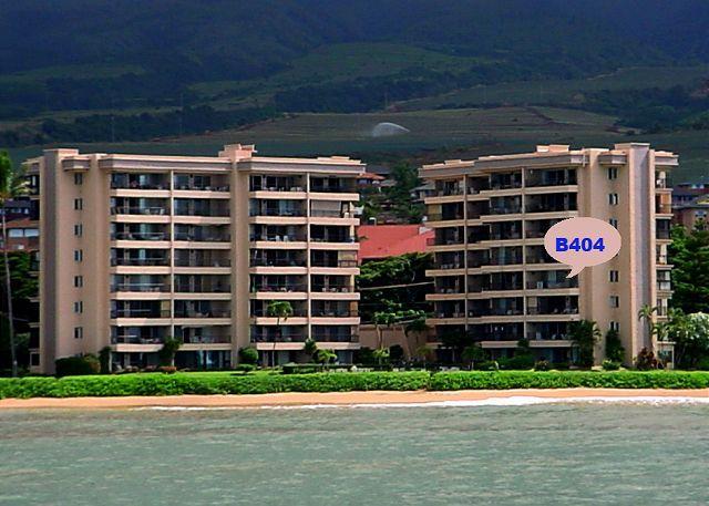 B404 Location - B404 Hololani Oceanfront Resort - Lahaina - rentals