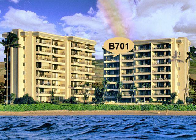 Exterior - B701 Hololani Oceanfront Resort - Lahaina - rentals
