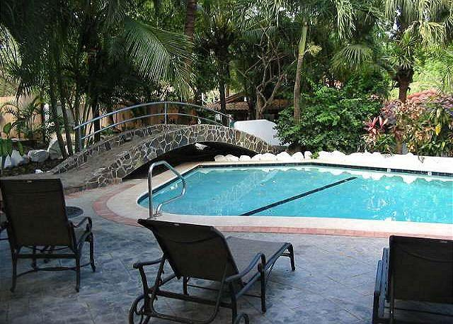 Pool and deck - Casa Blanca # 2 - Tamarindo - rentals