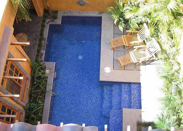 Pool - Beautiful 3BR vacation villa- across from beach, pool, gas grill CV2 - Tamarindo - rentals