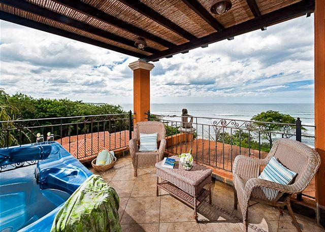 Amazing Views - Beautiful 3BR oceanview penthouse- jacuzzi, balcony, WIFI, a/c, HOR306 - Tamarindo - rentals
