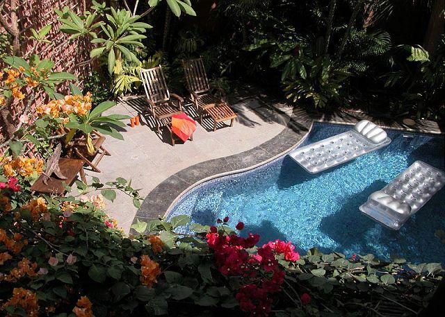 Pool - Well appointed villa- across from beach, private pool, kitchen, a/c, internet - Tamarindo - rentals