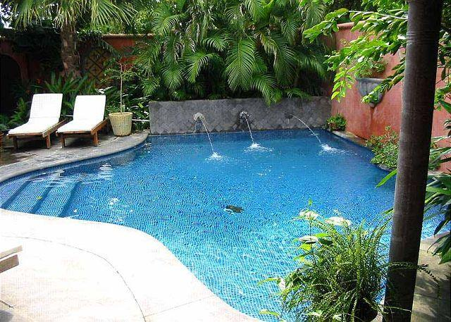 Pool - Luxury villa- across from beach, private pool, gas grill, cable, a/c - Tamarindo - rentals