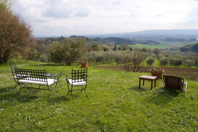 Luxury Farmhouse in the Chianti Wine Region - Casa dei Frati with Cottage - Image 1 - Mercatale di Val di Pesa - rentals