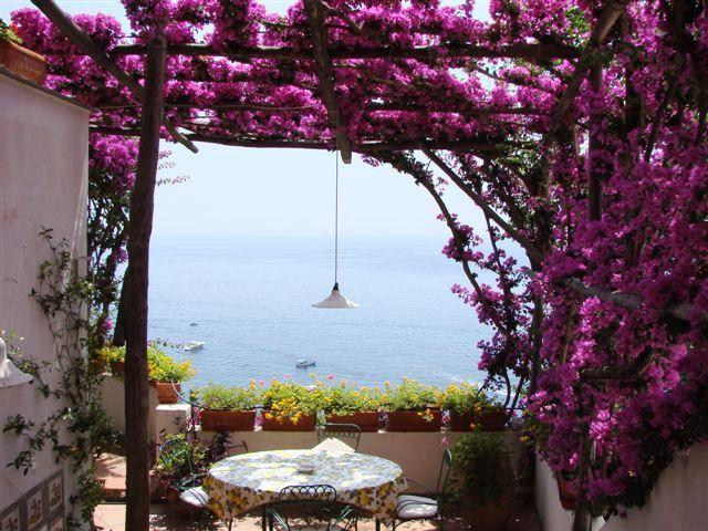 Amalfi Coast Apartment Walking Distance to Positano - Casa Luna - Image 1 - Positano - rentals
