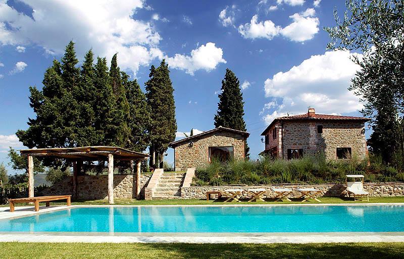 Villa Rental in Tuscany, Monte Benichi - Casa Medioevale with Annex - Image 1 - Pietraviva - rentals