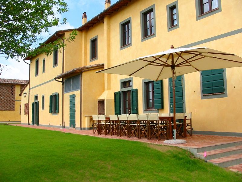 Large Villa and Cottage in Tuscany with Private Pool - Fattoria Capponi - Dolce - Image 1 - Montopoli in Val d'Arno - rentals