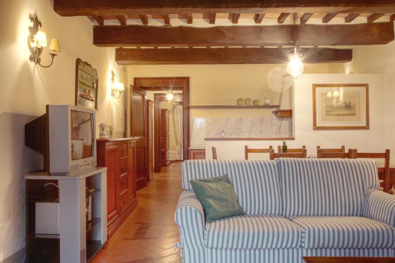 Tuscany Villa Accommodation - Fattoria Capponi - Versace - Image 1 - Montopoli in Val d'Arno - rentals