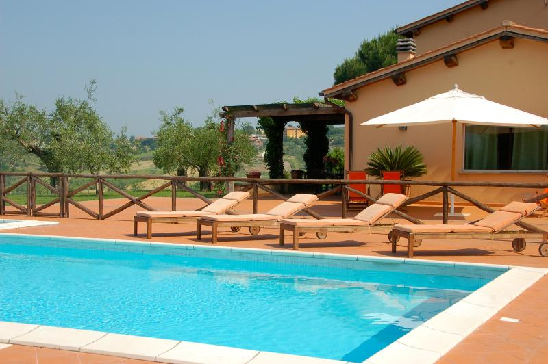 Large Estate with Four Villas with Pools North of Rome - Podere Tevere - Image 1 - Magliano Sabina - rentals