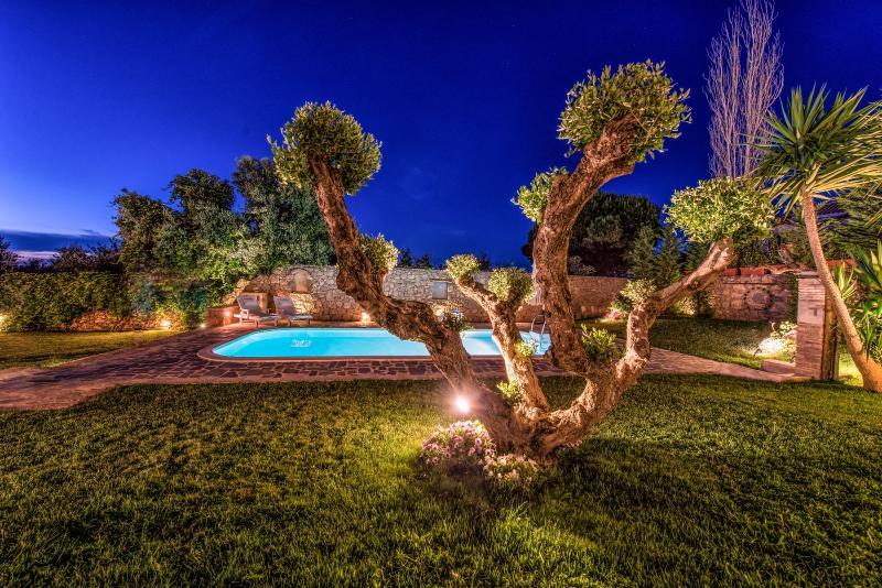Dusk in the Garden! - Bozonos Luxury Villa & Spa - Zakynthos - rentals