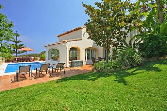 Picturesque Spanish Villa Overlooking Javea - Villa Tropical - Image 1 - Javea - rentals