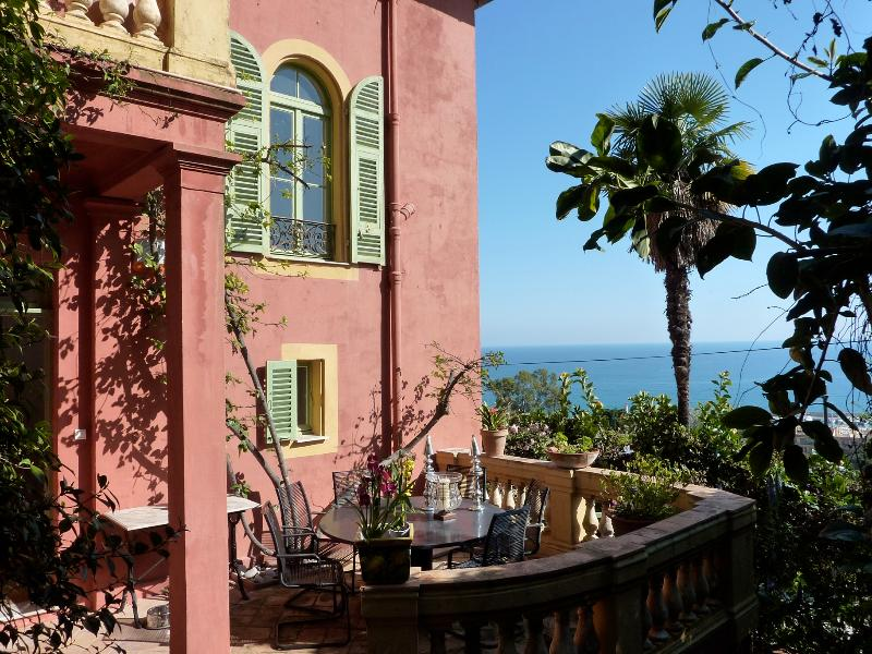 in Menton on the French Riviera - Villa Mediterranee - Image 1 - Menton - rentals