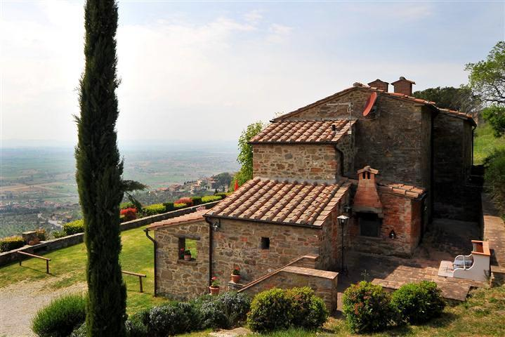 Villa Walking Distance to Cortona - Vista Infinita - Image 1 - Cortona - rentals