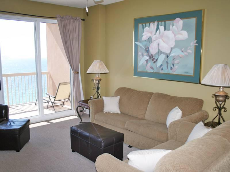 Elegant 2 Bedroom Condo with Fantastic Balcony View - Image 1 - Panama City Beach - rentals