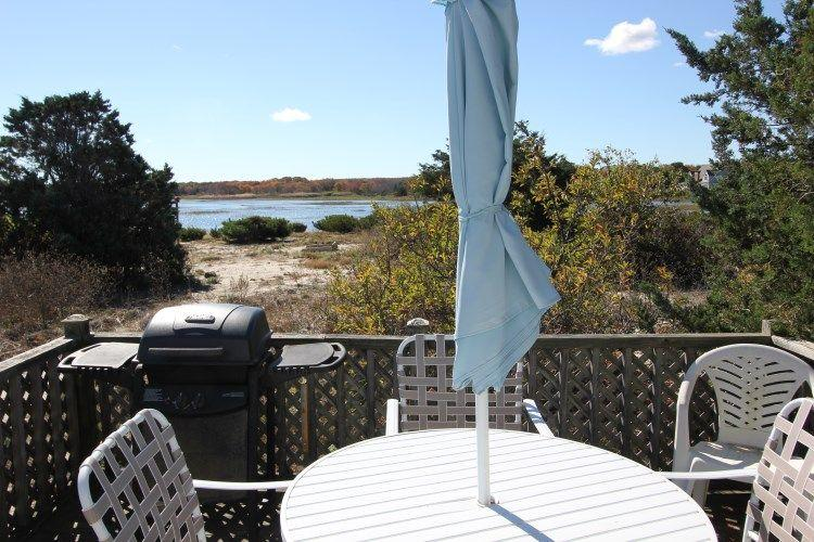 View of the Marsh from Back Deck - Beachland 4 - East Sandwich - rentals