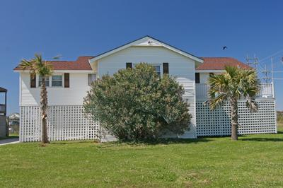 Street side of 702 Trade Winds - 702 Trade Winds - North Topsail Beach - rentals