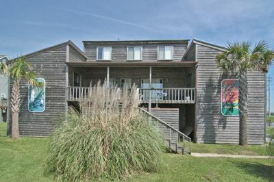 Street side of 704 Trade Winds - 704 Trade Winds - North Topsail Beach - rentals