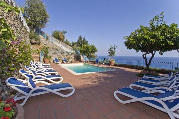 2 miles from the center of Amalfi, nestled among olive groves. BRV CRO - Image 1 - Amalfi Coast - rentals