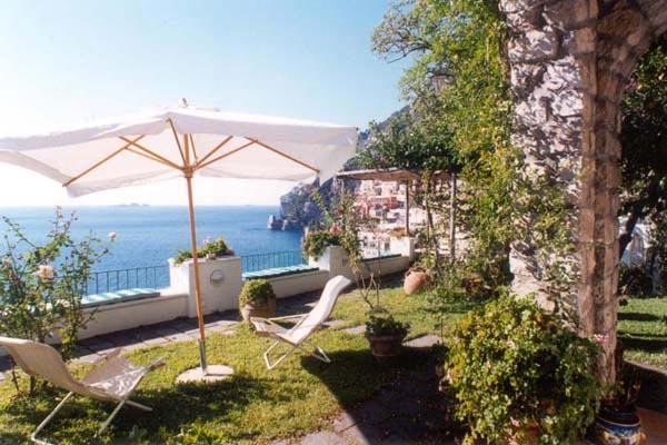 Excellent apartment above the center of Positano- stunning views. BRV SIM - Image 1 - Amalfi Coast - rentals