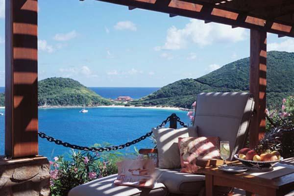 Nestled midway up a plush hillside above yacht- filled Deadman's Bay, this villa offers grand vistas and invaluable privacy. PTR CRO - Image 1 - Tortola - rentals