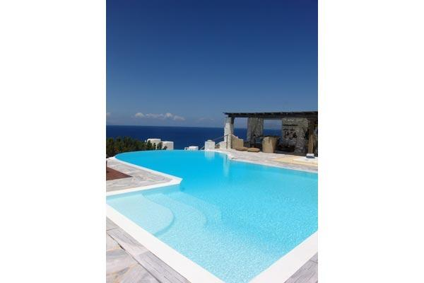 This fun summer home is located on the most panoramic side of Mykonos- views from Tinos to Delos. LIV ANE - Image 1 - Mykonos - rentals