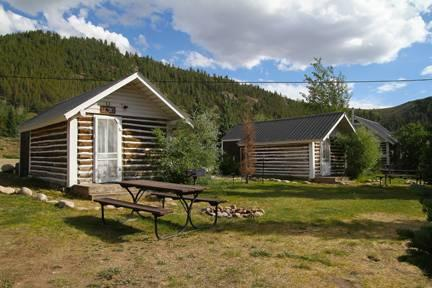 Rustic and Cute Studio Cabin at Three Rivers Resort in Almont (#8) - Image 1 - Almont - rentals