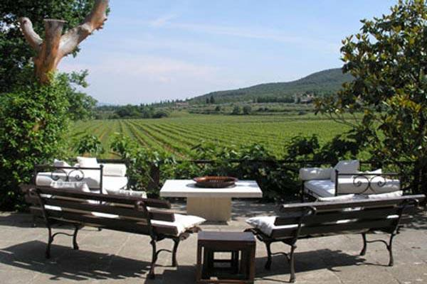 This lovely 6 bedroom villa, surrounded by the hills and vineyards of Tuscany, produces its own wine BRV SAS - Image 1 - Siena - rentals