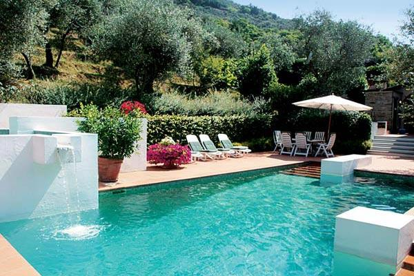 Picturesque villa and setting near Camaiore- 2km unpaved road driveway. SAL MAD - Image 1 - Lucca - rentals