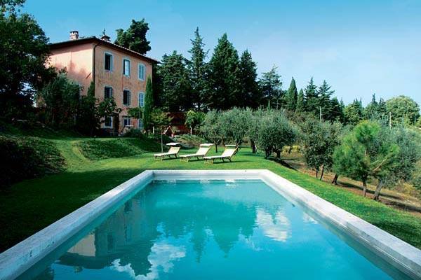 Hilltop villa vetween Lucca and Camaiore coast- vineyard views. SAL MCC - Image 1 - Lucca - rentals