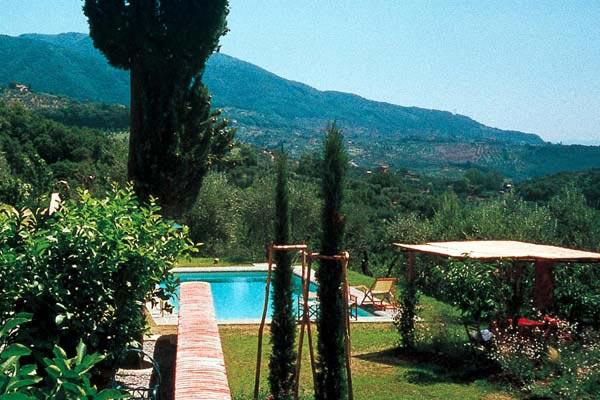 Fascinating farmhouse- restored in a country style with beamed ceilings and cotto floors.  SAL MON - Image 1 - Lucca - rentals