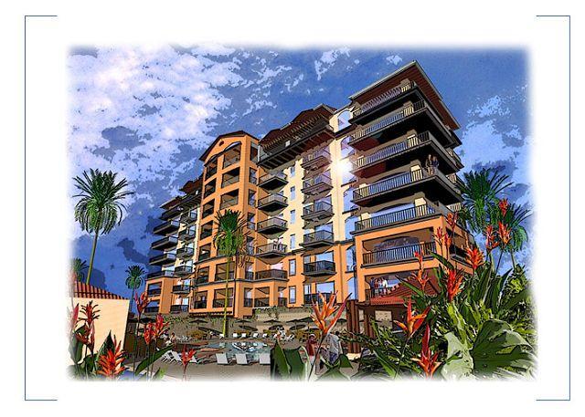 Artist's Rendering - Beachfront 5th floor Ocean View Luxury Condo, 32' LCD,King,Queen,Downtown! - Jaco - rentals