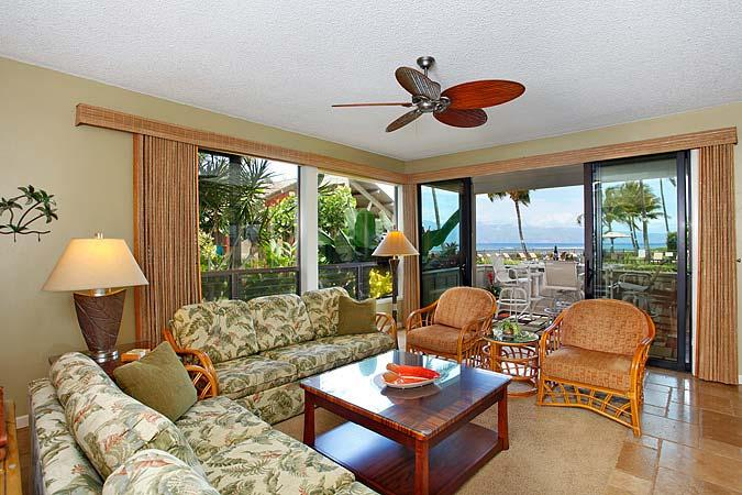Ocean Front 3 Bedroom Luxury Condo Unit 07 - Image 1 - Lahaina - rentals