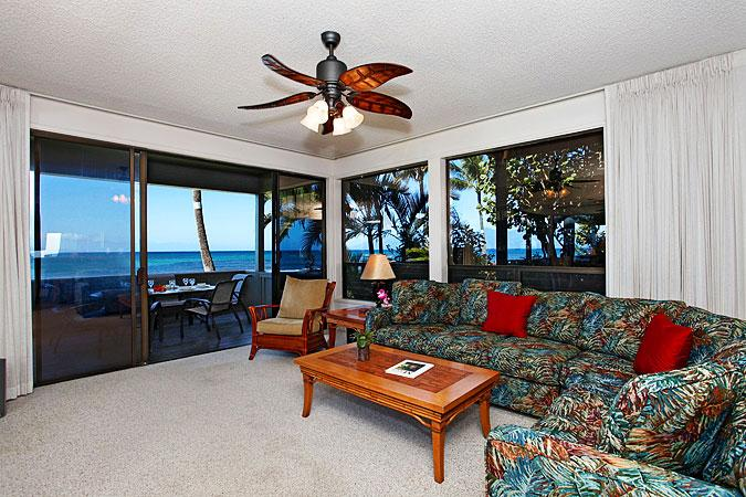 Unit 24 Ocean Front Prime Luxury 3 Bedroom Condo - Image 1 - Lahaina - rentals