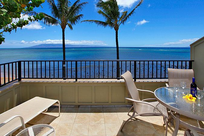 Unit 28 Ocean Front Prime Luxury 2 Bedroom Condo - Image 1 - Lahaina - rentals