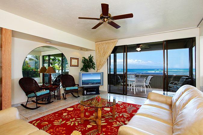 Ocean Front Prime 3 Bedroom Luxury Condo Unit 36 - Image 1 - Lahaina - rentals