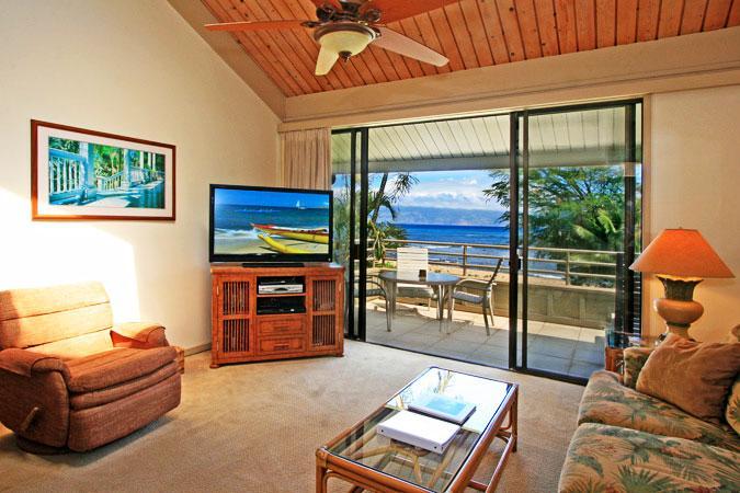 Ocean Front 2 Bedroom Deluxe Condo Unit 40 - Image 1 - Lahaina - rentals