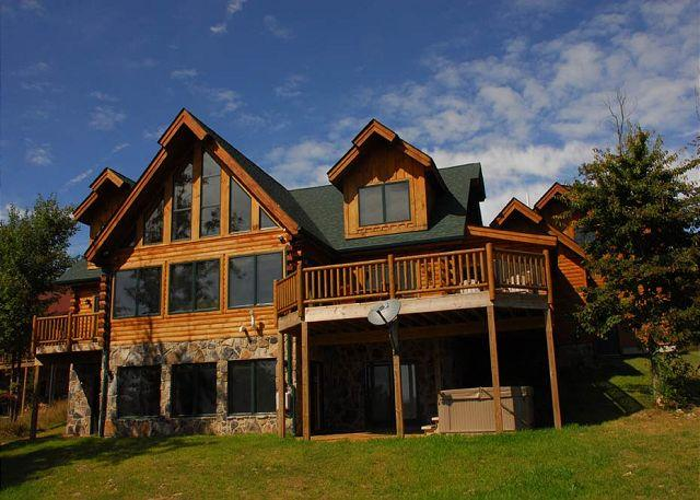 Exterior - Extrordinary 5 Bedroom Luxury Mountain Chalet is your Dream Vacation Home! - McHenry - rentals
