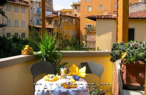 Perfect Charming-Ponte Vecchio-Terrace-A++Reviews - Image 1 - Florence - rentals