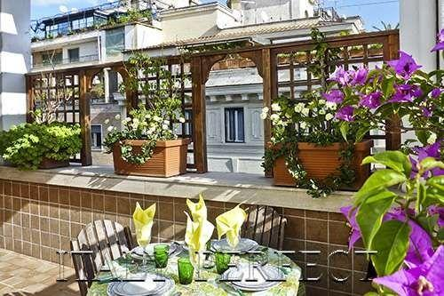 Perfect Spanish Steps-Terrace AC WashDry Flaminio - Image 1 - Rome - rentals