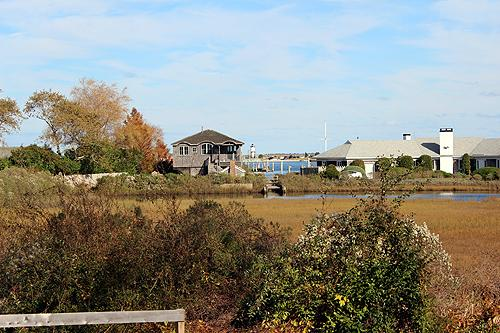 1246 - A COOL DRINK ON THE VERANDA AS YOU GAZE OUT OVER A BEAUTIFUL SALT MARSH TO THE HARBOR . - Image 1 - Edgartown - rentals