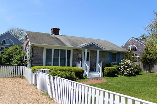 1394 - DOWNTOWN EDGARTOWN RETREAT WITH GREAT YARD AND BACK PATIO - Image 1 - Edgartown - rentals