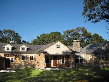 1522 - WATERFRONT VINEYARD CONTEMPORARY HOME LOCATED ON TISBURY GREAT POND - Image 1 - Chilmark - rentals