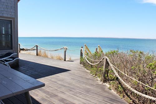 263 - BEACHFRONT BUNGALOW WITH BEAUTIFUL VIEWS - Image 1 - Vineyard Haven - rentals