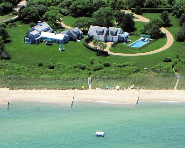 694 - AN EXQUISITE WATERFRONT, LUXURY - RESTORED 18th CENTURY VINEYARD HOME W/POOL - Image 1 - Edgartown - rentals