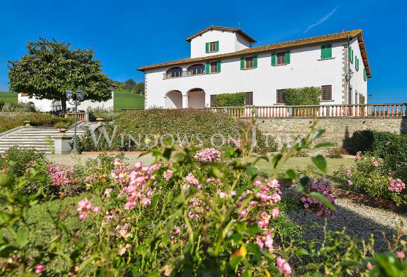 Villa Il Gelsomino 10 - Windows On Italy - Image 1 - Figline Valdarno - rentals