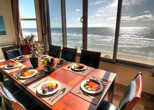 Oceanfront vacation rental - Oceanfront unit with 6br/5.5ba, rooftop decks, private spa - Oceanside - rentals