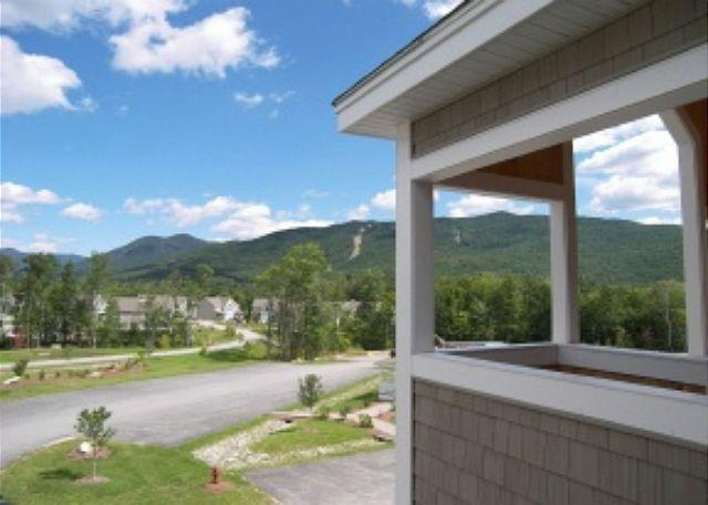 View from Front Entry - F1010- Managed by Loon Reservation Service - NH Meals & Rooms Lic# 056365 - Lincoln - rentals