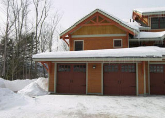 Outside - South Peak 1A - Managed by Loon Reservation Service - Lincoln - rentals