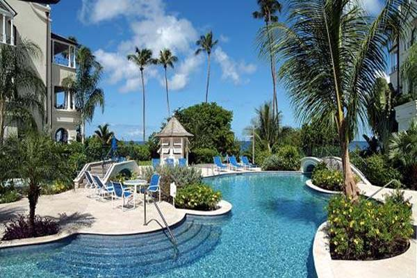 Sea and pool views from this first story apartment. BS 203 - Image 1 - Barbados - rentals
