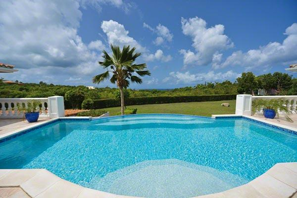 Very private villa with swimming pool and sunset ocean views. C BAS - Image 1 - Terres Basses - rentals